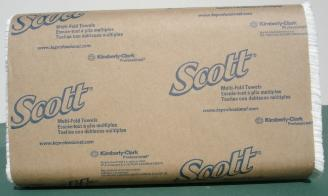 Scott 1804 Bleached Multifold Towel